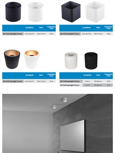 LED FIXTURES (Surfaced) - 14